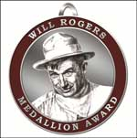 Jane wins the Will Rogers Award