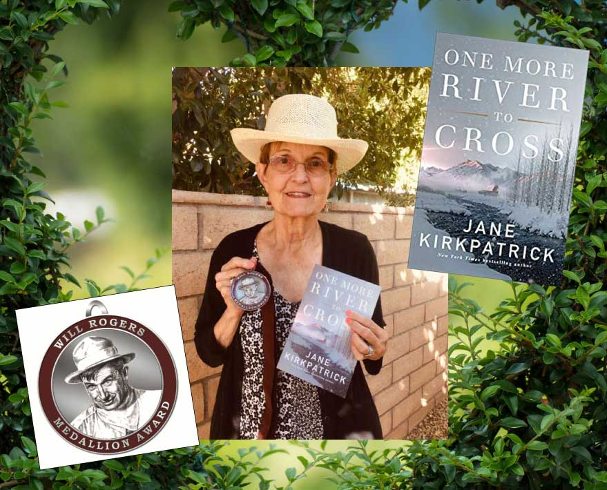 Jane Kirkpatrick's One More River to Cross wins Will Rogers Medallion Award