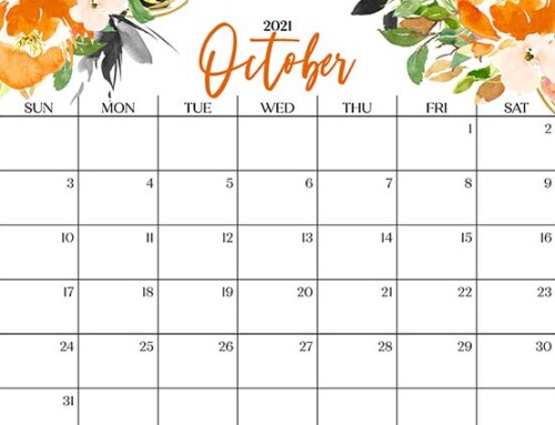 October 2021 Events