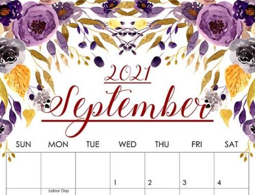 September 2021 Events